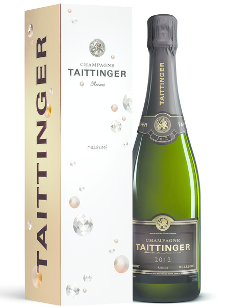 Champagne Taittinger Brut Millésimé in Diamond GP