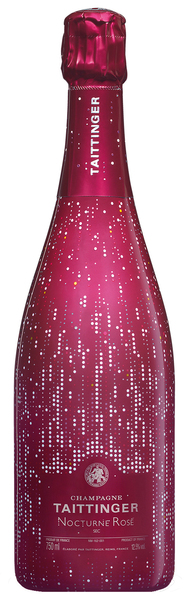 Champagne Taittinger Nocturne Sec 'City Lights' Rosé